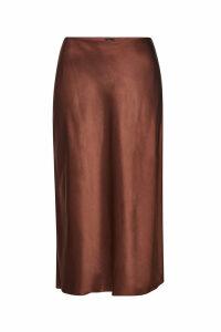 Joseph Frances Silk Midi Skirt
