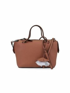 Small Kyla Leather Satchel Bag