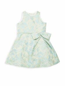 Little Girl's Floral Dress