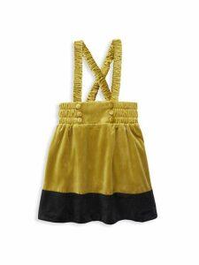 Little Girl's & Girl's Galloway Velvet Skirt