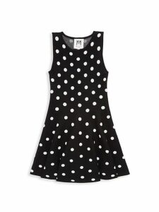 Little Girl's & Girl's Polka Dot Dress