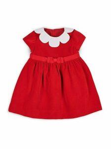 Baby Girl's Velvet Dress