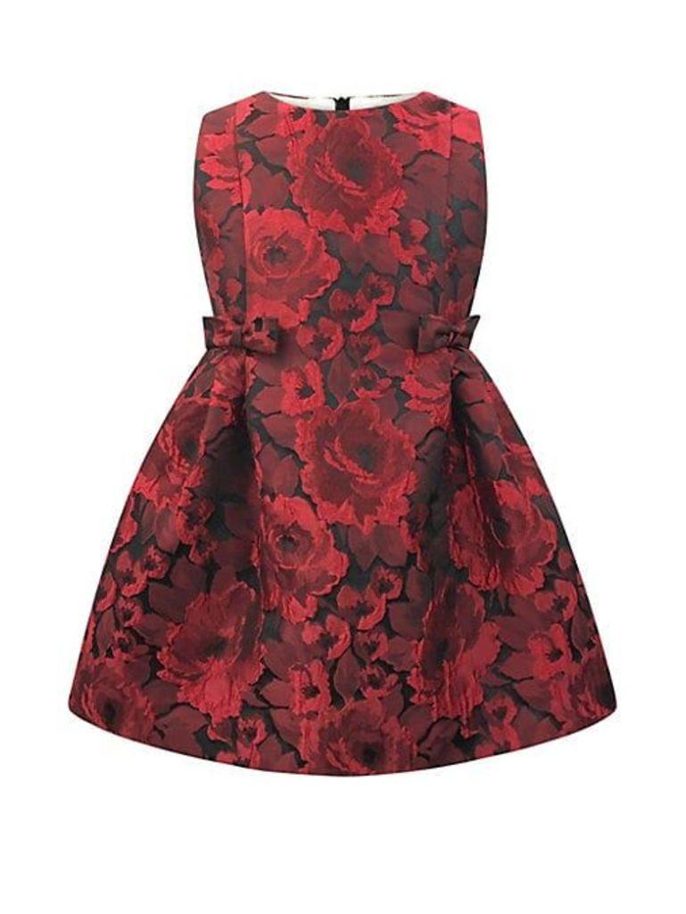 Baby Girl's, Little Girl's & Girl's Jacquard Floral Dress