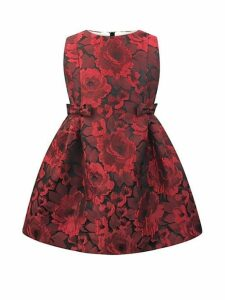 Baby Girl's, Little Girl's & Girl's Jacquard Floral Dress