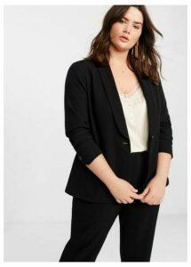 Structured suit blazer