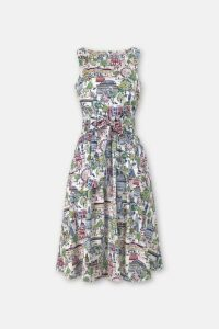 London View Tie Waist Dress
