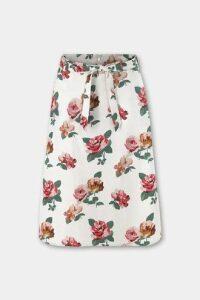 Chiswick Rose Tie Waist Skirt