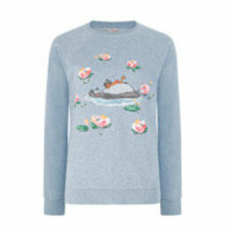 Jungle Book Waterlily River Sweatshirt