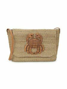 Malia Straw Crossbody Bag