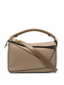 Loewe Puzzle small shoulder bag - Neutrals