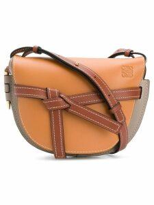 Loewe knot detail shoulder bag - Brown