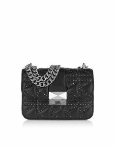 Karl Lagerfeld Designer Handbags, K/Kuilted Studs Crossbody Bag