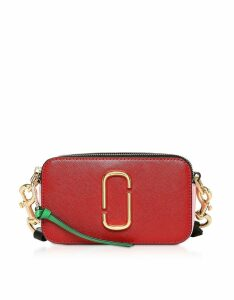 Marc Jacobs Designer Handbags, Saffiano Leather Snapshot Camera Bag