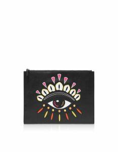 Kenzo Designer Handbags, Kenzo Paris Eye Clutch