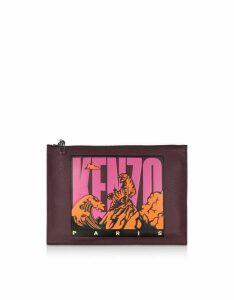 Kenzo Designer Handbags, KENZO Paris Clutch