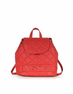 Valentino by Mario Valentino Designer Handbags, Licia Quilted Backpack