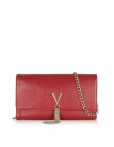 Valentino by Mario Valentino Designer Handbags, Oboe Eco Leather Clutch