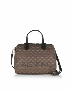 Valentino by Mario Valentino Designer Handbags, Liuto Signature Eco Leather Satchel Bag