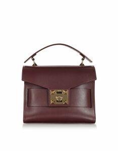 Salar Designer Handbags, Gigi Top-Handle Satchel Bag