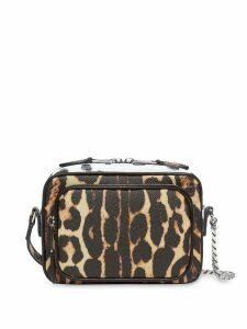 Burberry Animal Print Leather Camera Bag - Multicolour