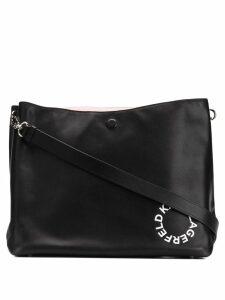 Karl Lagerfeld Hobo medium shoulder bag - Black