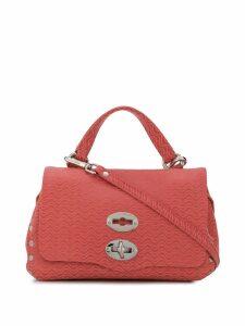 Zanellato satchel cross body bag - Pink