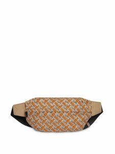 Burberry Medium monogram print belt bag - Orange