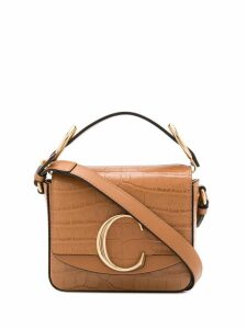 Chloé Chloé C tote bag - Brown