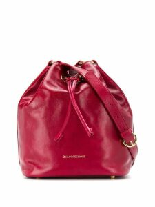 L'Autre Chose bucket bag with shoulder strap - Red