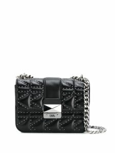 Karl Lagerfeld K/Kuilted crossbody bag - Black