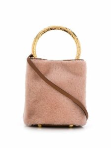 Marni Pannier bucket bag - Pink