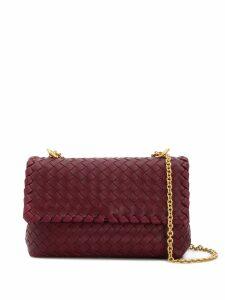 Bottega Veneta Olimpia crossbody bag - Red