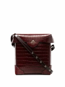 Manu Atelier mini Pristine cross-body bag - Red