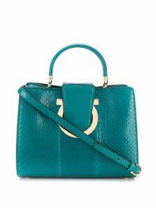 Salvatore Ferragamo Thea mini bag - Blue
