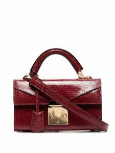 Stalvey mini top handle shoulder bag - Red