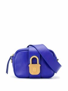 Just Cavalli padlock clasp belt bag - Blue