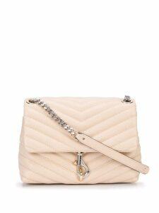 Rebecca Minkoff foldover shoulder bag - Neutrals