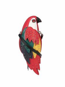 Kate Spade parrot shoulder bag - Red