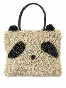 Anteprima Panda medium tote bag - White