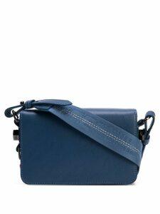 Off-White flap mini bag - Blue