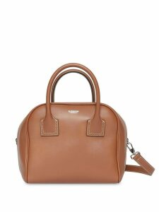 Burberry Small Leather Cube Bag - Brown