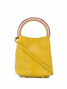 Marni Pannier bucket bag - Yellow