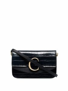 Chloé mini C shoulder bag - Blue