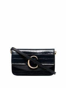 Chloé C-embellished shoulder bag - Blue
