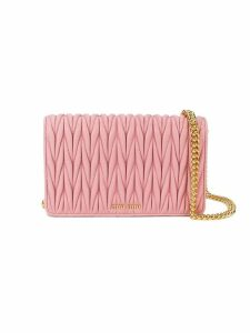 Miu Miu Mini Pink Delice Shoulder Bag