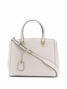 Michael Michael Kors cross-body tote bag - White