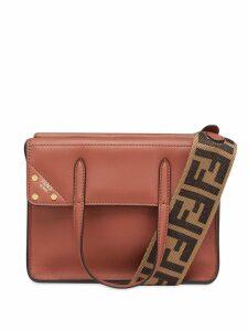 Fendi small Flip bag - Brown