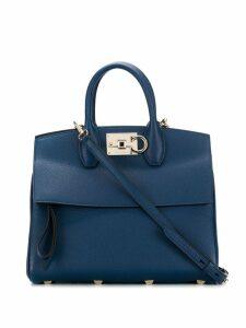 Salvatore Ferragamo medium Studio tote bag - Blue
