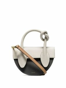 Yuzefi mini Dolores knot tote - Brown