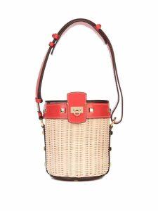 Salvatore Ferragamo Gancio bucket bag - Red